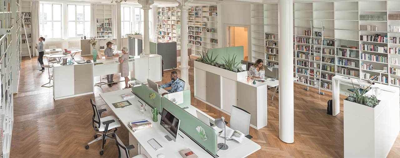 Acoustically optimize office space planning