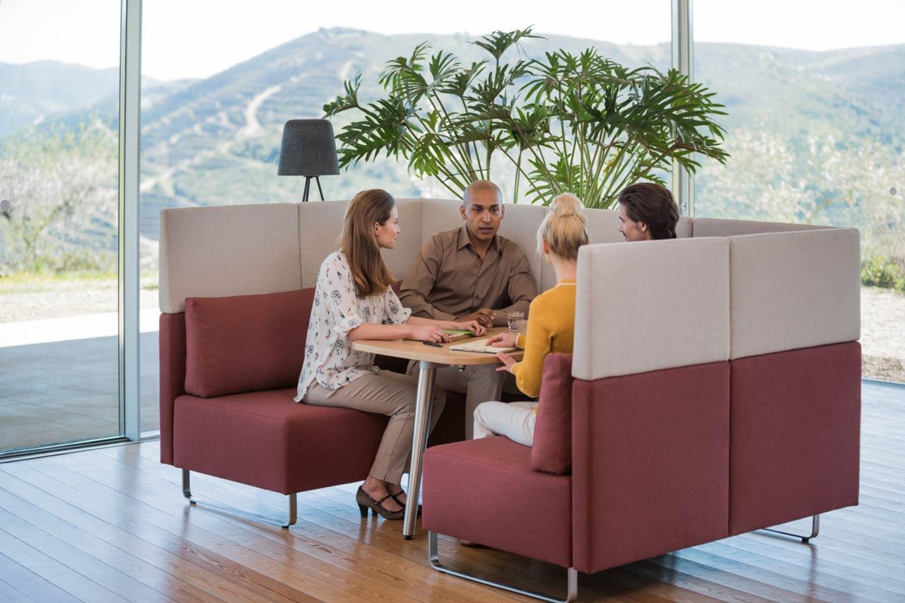 Büroraumplanung Teamzone