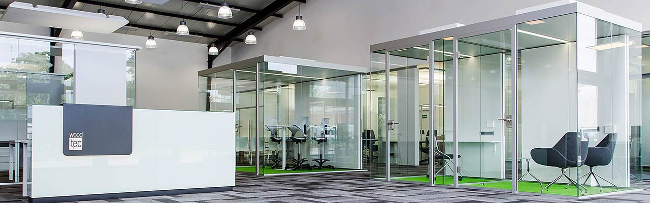 Office space planning uses room structures