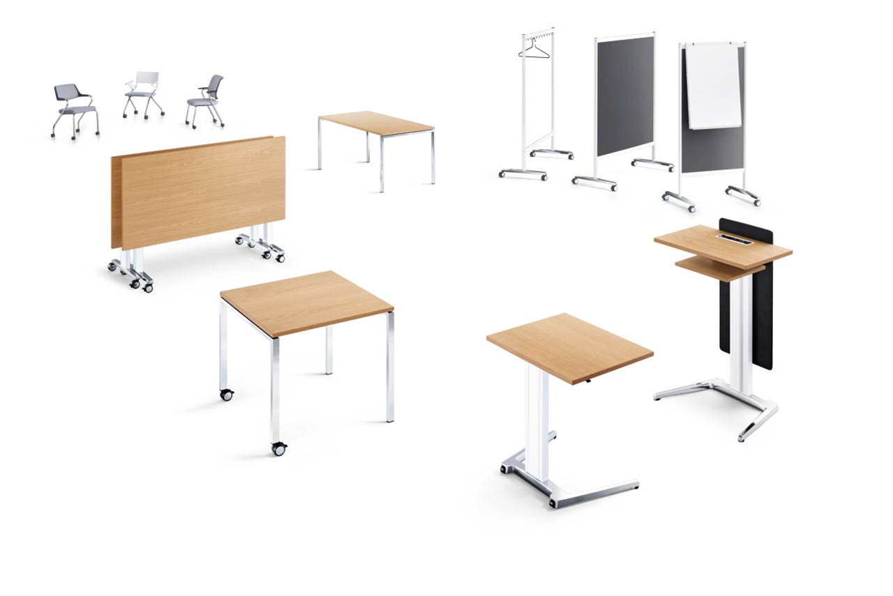 Bueroraumplanung Möbelfunktion Schulung