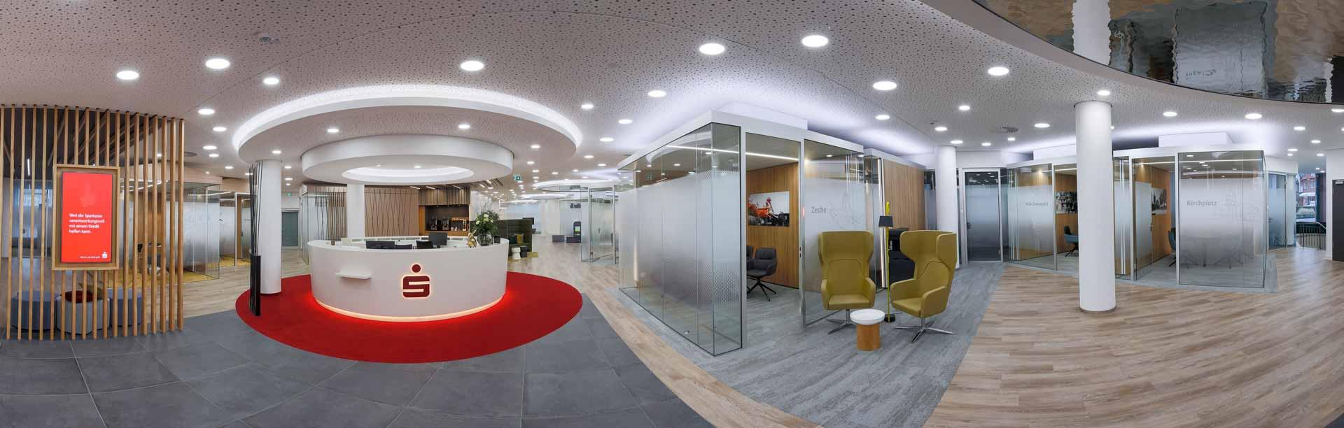 Raum-in-Raum vetroCUBE Bank