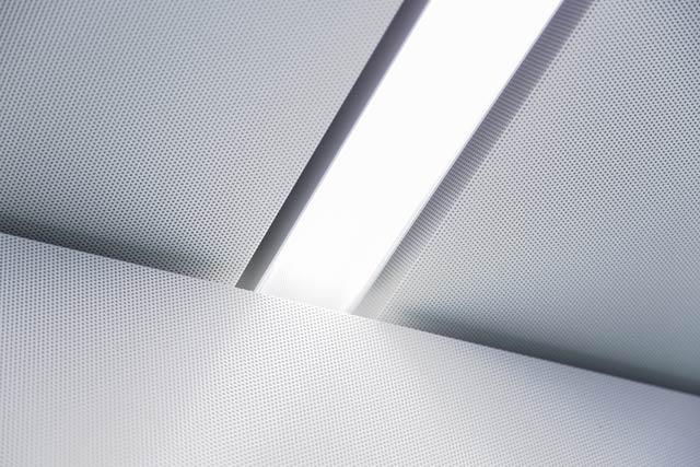 Raum in Raum Lichtkanal