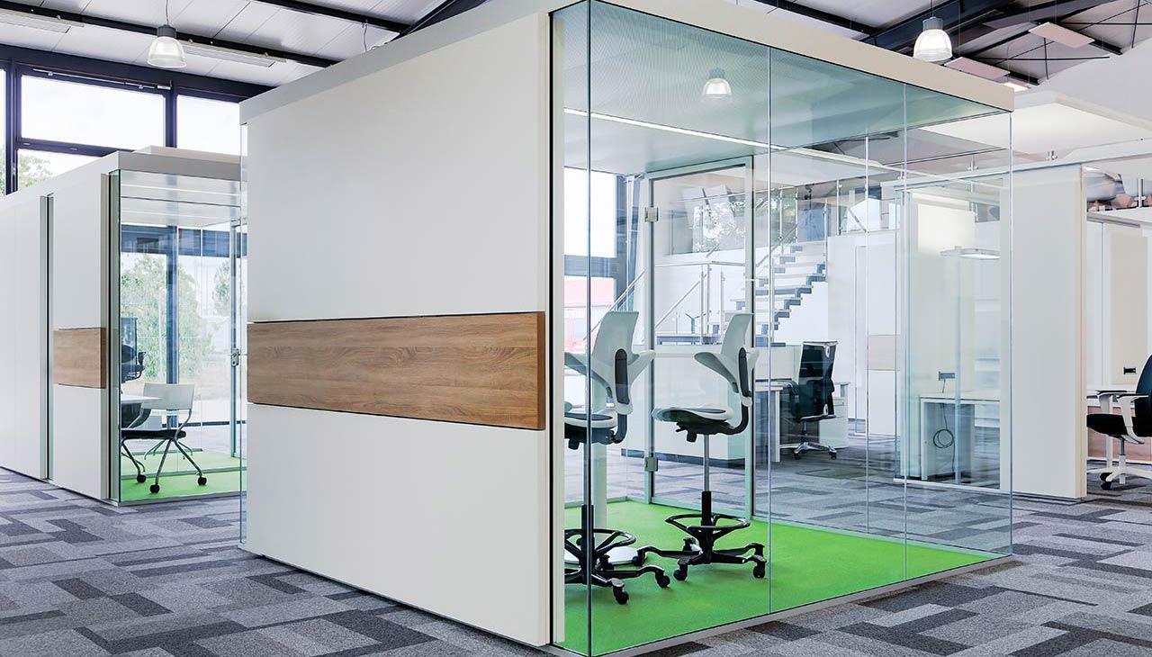 Raum in Raum Konstruktion unabhängig vom Gebäude