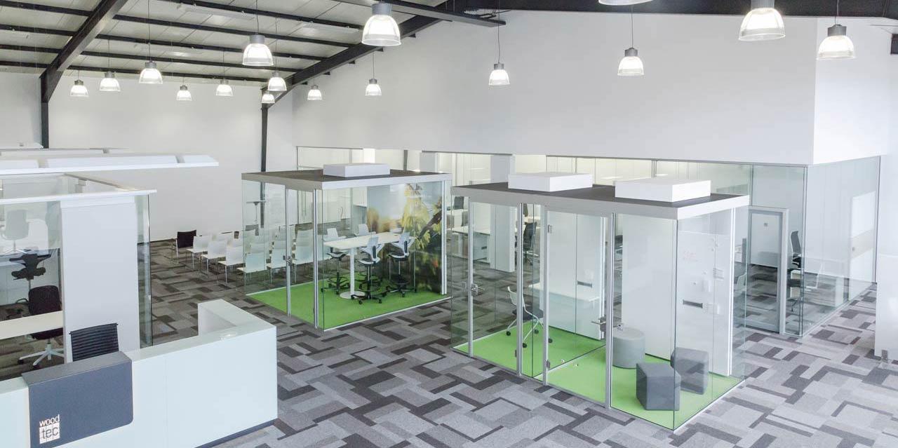 Think Tank Büro - autark - frei stehend - Raum in Raum |