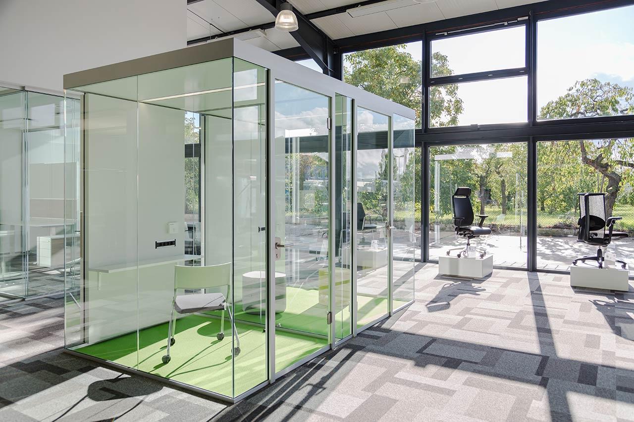 Transparent und lichtdurchflutete Räume