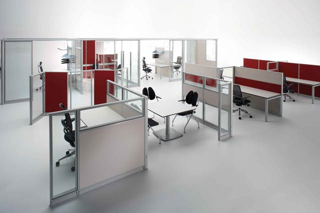 Partition wall can be linked together