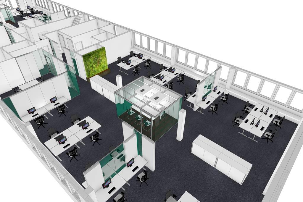 Büroplanungen für unsere Kunden