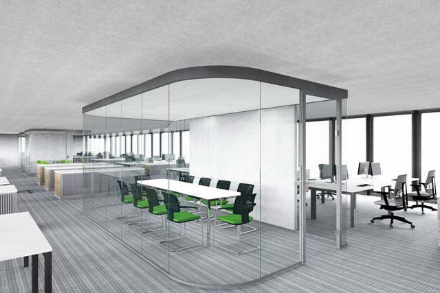 open space. Black Bedroom Furniture Sets. Home Design Ideas