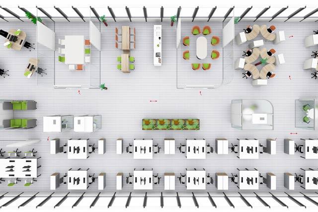 raum in raum und glasakustik optimieren das smart office. Black Bedroom Furniture Sets. Home Design Ideas