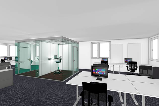 das open space b ro braucht eine besondere akustische. Black Bedroom Furniture Sets. Home Design Ideas