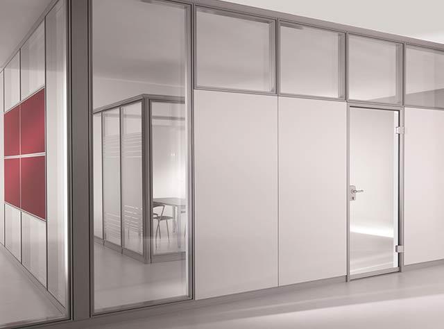 trennwand glas trennwand aus holz und glas nodoo. Black Bedroom Furniture Sets. Home Design Ideas