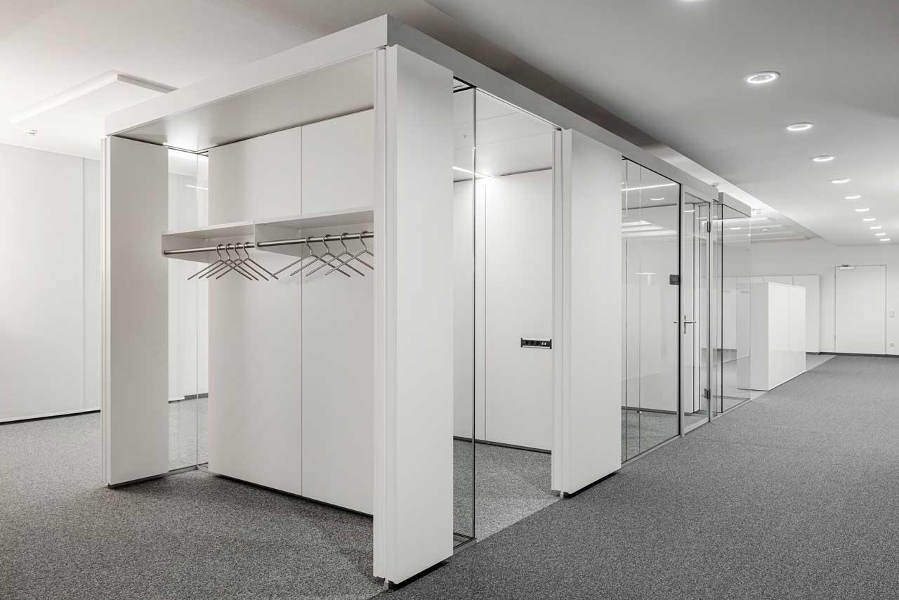 Raum in Raum kompakt und doch leicht gestaltet