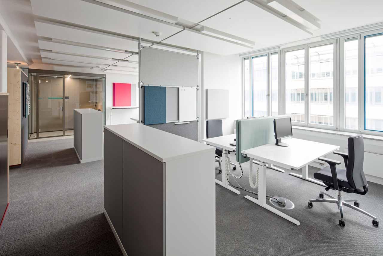 smart office multispace mit Raum in Raum