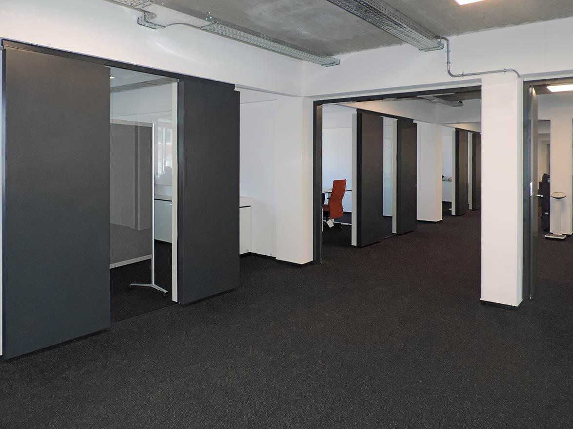 Schallschirme Büro als Glasakustik System