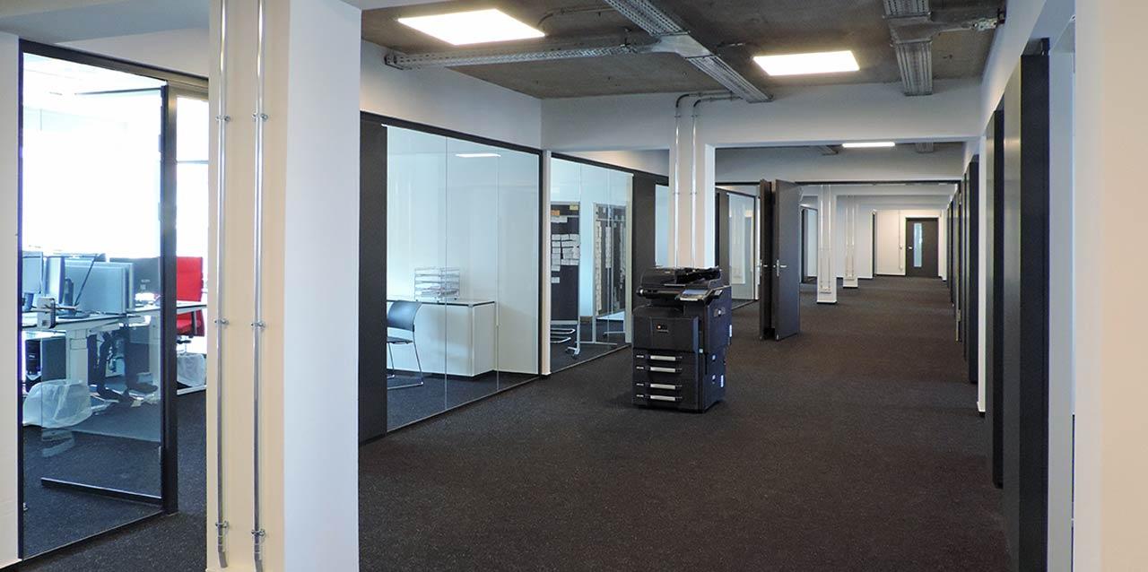 Optimierte Akustik mit Ruhemodulen im Büro