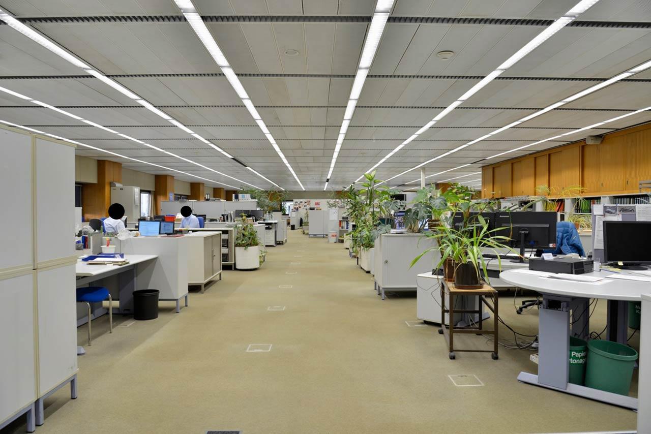 Open space vor der Revitalisierung