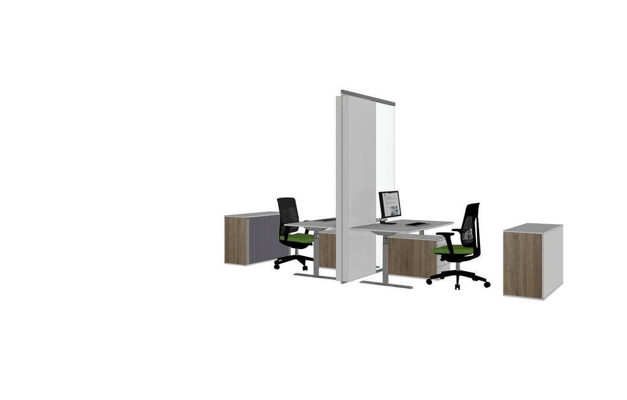 Glasakustik beruhigt offene Büros