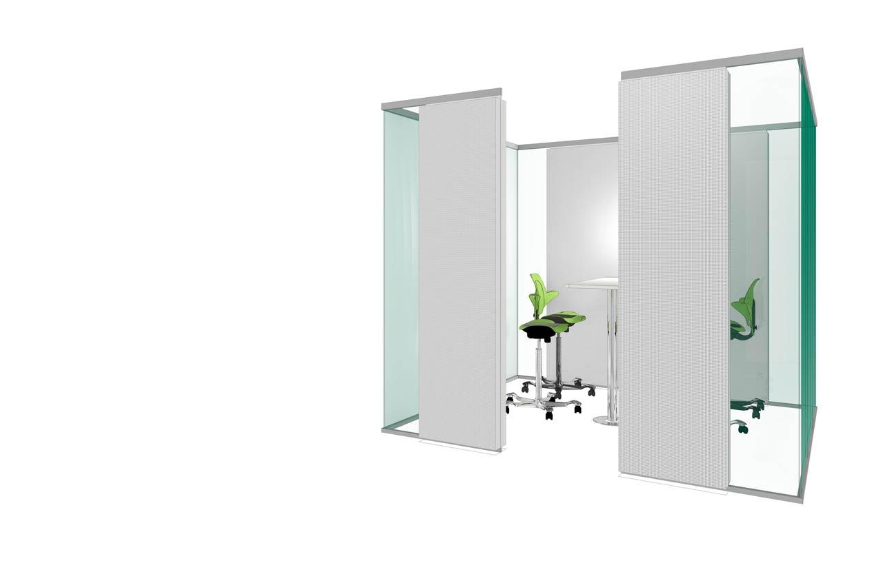 Glasakustik bietet Raum für Meetings