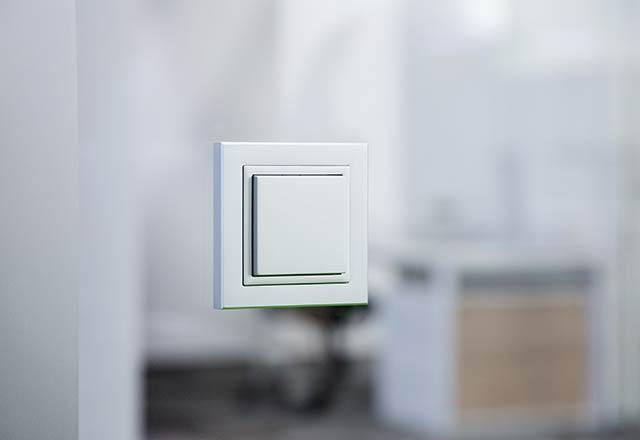 Glaswand Lichtschalter