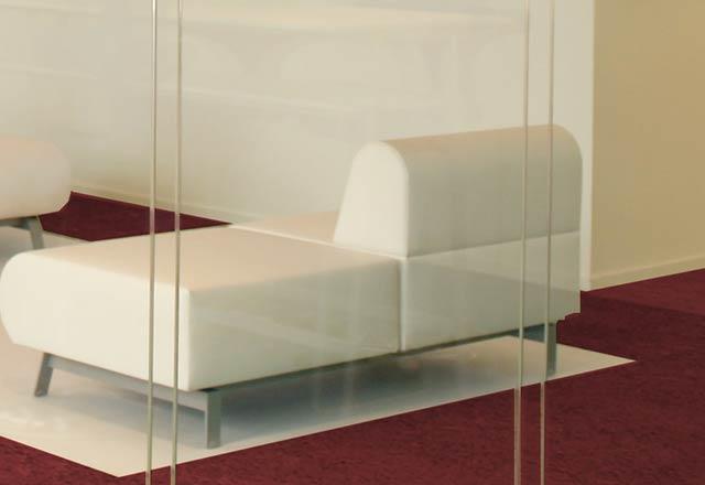 Glaswand rahmenlose Verbindung