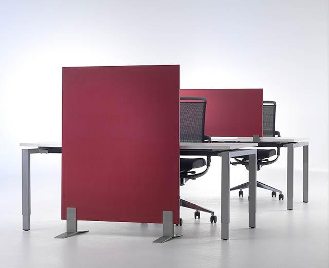 Akustischirm für mehr Ruhe am Arbeitsplatz
