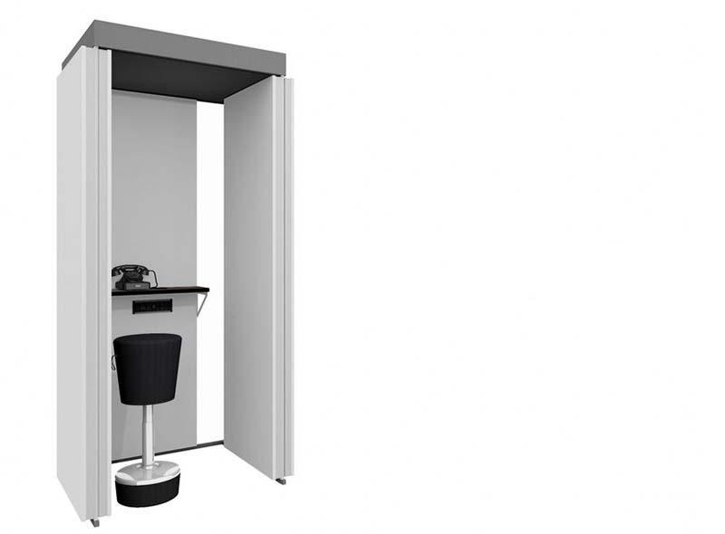 Thinktank Telephone booth free-standing