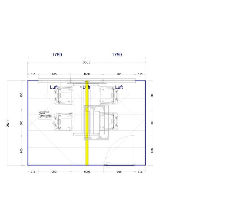 2d Plan Thinktank 9,4 m²