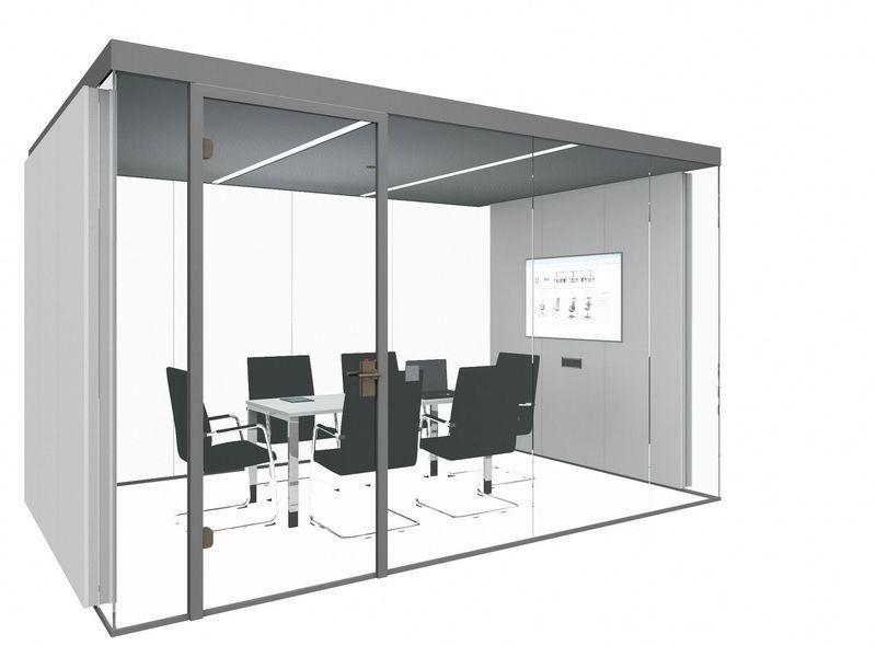 Thinktank 12 m² für 6 Personen